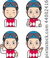 Male jockey 7 44002416