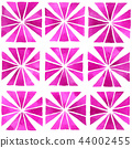 Hand painted seamless pattern in pink 44002455