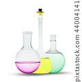 round beaker, glassware 44004141