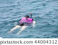 female, woman, swim 44004312