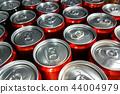 aluminum cans closeup 44004979