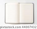 notebook, book, empty, copyspace, business 44007432