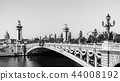 Pont Alexandre III Bridge with Hotel des Invalides 44008192