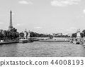 Pont Alexandre III Bridge with Eiffel Tower. Paris 44008193