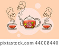 tea, teapot, beverage 44008440