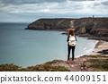 girl, coast, france 44009151