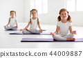 yoga, child, kid 44009887