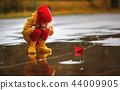 child, puddle, happy 44009905