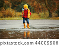 boy, autumn, boot 44009906