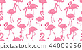 Flamingo seamless pattern vector tropical Flamingo 44009956