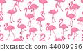 Flamingo seamless pattern vector tropical Flamingo 44009956