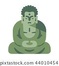 Great Buddha Flat illustration 44010454