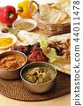 咖哩 印度坦都裡烤雞 食品 44011478