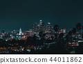 Aerial view of Los Angeles, CA 44011862