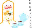 下午茶糖和茶 44011927