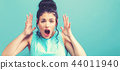 Young woman feeling stressed 44011940