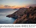 Temple of Poseidon sunset 44013237