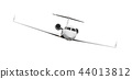 Airplane isolated on white background 44013812