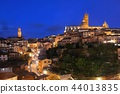 Siena panorama view at night 44013835