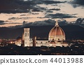 Florence Cathedral skyline night 44013988