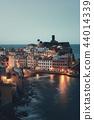 Vernazza at night in Cinque Terre 44014339
