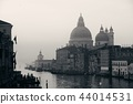 Venice Grand Canal sunrise and boat 44014531