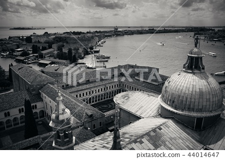 Venice Grand Canal viewed from the top 44014647