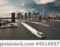 Brooklyn Bridge and downtown Manhattan 44014697