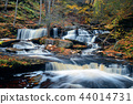 Autumn waterfalls 44014731