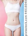 woman show her thin waist 44016040