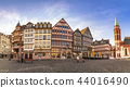 Frankfurt Germany, panorama city skyline at Romer 44016490
