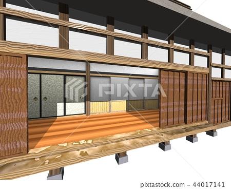 일본 가옥, 부케 야시키, 고민가 사원 44017141