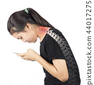 Neck muscle pain 44017275