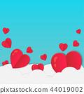love valentine day background 44019002