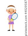 เทนนิส,ลูกเทนนิส,ผู้หญิง 44020587