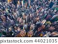 Aerial view of Hong Kong Downtown. Financial 44021035