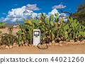 Old gas pump in the Namib Desert, Namibia 44021260