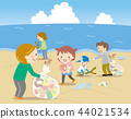 Garbage problem Beach cleaning 44021534