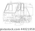 Small Street Clean Truck Concept 44021958