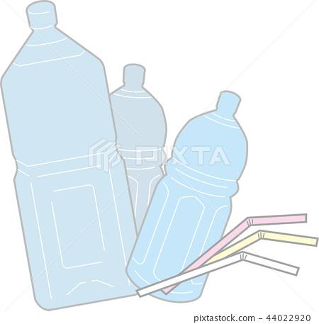 Plastic waste plastic bottle 44022920