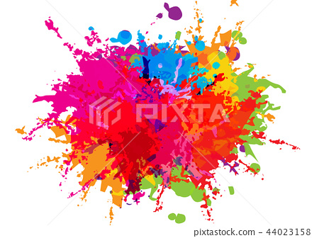 abstract vector color background design.  44023158