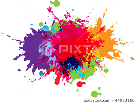 abstract vector color background design. 44023160