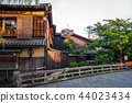 japanese houses, Gion district, Kyoto 44023434