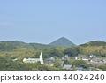 【나가사키 현】 히라도 성에서 히라도 시내의 거리 44024240