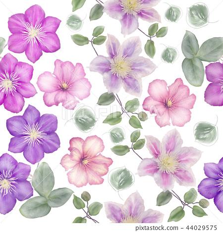 Seamless floral pattern 44029575