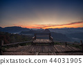 Landscape of view point and mountain. 44031905