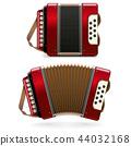Vector Red Harmonic 44032168