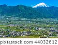 笛吹市 富士山 街景 44032612