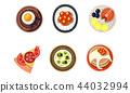碟 盘 食物 44032994