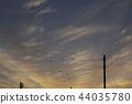 พระอาทิตย์ตก,เมฆ,สดใส 44035780